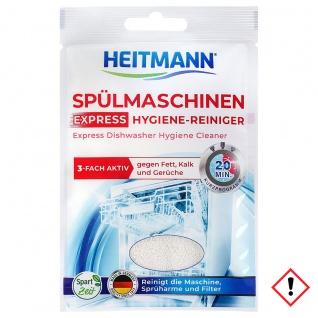 Heitmann Express Spülmaschinen Hygiene Reiniger 30 g 1er Pack