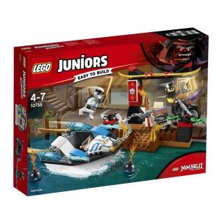 Lego Ninjago Masters of Spinjitzu 10755 Zanes Verfolgungsjagd mit dem Ninjaboot