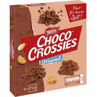 Choco Crossies Original 4 Frischepacks mit Knusperpralinen 300g