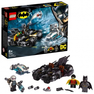 LEGO DC Batman 76118 Batcycle Duell mit Mr Freeze Bauset für Kinder