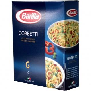 Barilla Gobbetti Nr 051 Pasta aus Hartweizengriess Hörnchen 500g
