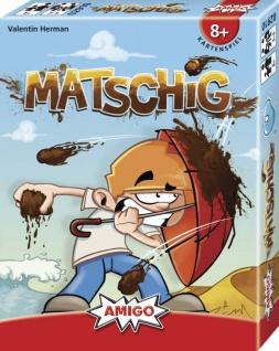 AMIGO Spiel und Freizeit Matschig Kartenspiel für die ganze Familie
