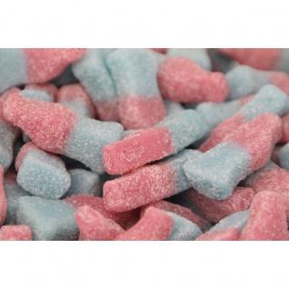Fruchtgummi Bubblegum Bottles sauer ohne Gelatine Laktosefrei 175g