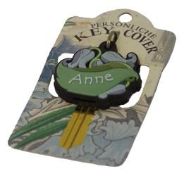 Schlüsselkappe Schlüsselköpfe Schlüsselzubehör mit dem Namen Anne