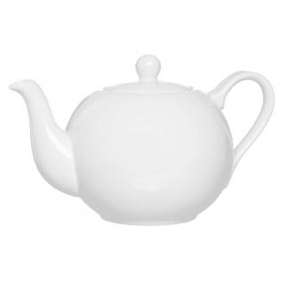 Ritzenhoff und Breker Teekanne Porzellan weiß Serie Bianco 1000ml