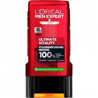 Loreal Men Expert Duschgel Ultimate Vitality Dusche for Men 300ml