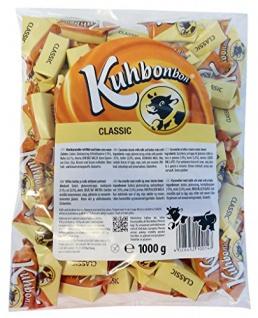 Kuhbonbons Classic XL Weichkaramell mit Butter und Milch 1000g