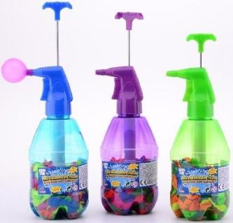 Johntoy 29454 Wasserballonpumpe mit Wasserballons
