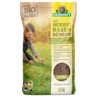Neudorff Azet Herbst Rasen Dünger erhöhte Widerstandsfähigkeit 10kg