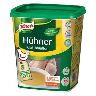 Knorr Hühner Kraftbouillon kräftig Großpackung für Gastro 1000g