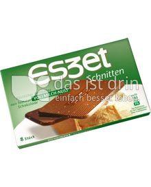 ESZET Schnitten Vollmilch-Nuss 75g 20er Pack