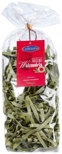 Culinaria Spinat Walznudeln 8 mm aus Hartweizen 500g 3er Pack