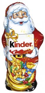 Ferrero Kinder Schokolade Weihnachtsmann mit Milchcreme 160g 4er Pack