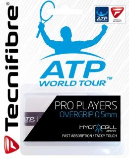 Tecnifibre Tennis Griffband Pro Overlast weiß ATP World Tour