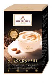 Niederegger Marzipan Milchkaffee 10 Portionsbeutel 200g 2er Pack