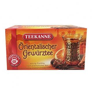Teekanne Orientalischer Gewürztee würzige Mischung Ingwer Pfeffer