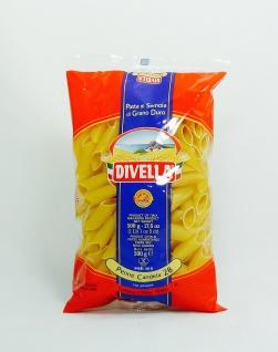 Divella Penne Nudeln aus Italien Candela Nr 28 Röhrenförmig 500g