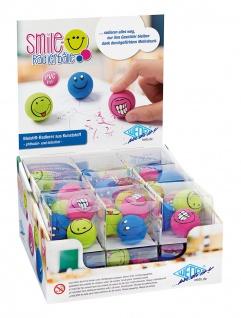 WEDO Radierer Radierbälle Smile 3 Stück in einer Klarsichtbox