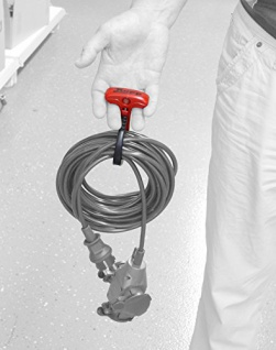 Kopp Cable Wraptor, 1 Stück, XL, schwarz / rot, 372701002