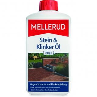 Mellerud Stein und Klinker Öl Pflege Tonplatten Ziegel 1000ml