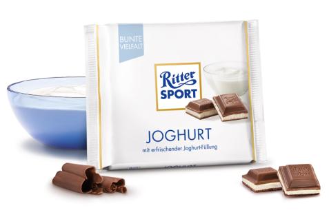 Ritter Sport Joghurt mit erfrischender leckerer Joghurtfüllung 100g