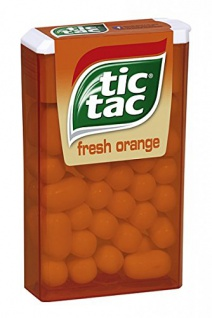 Ferrero - tic tac fresh Orange, im praktischen Spender - 18g
