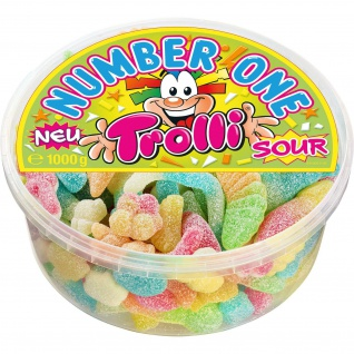 Trolli Number One sour 1000g