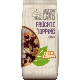 Maryland Topping Früchte Trockenfrüchte Mix für Müsli 1000 g