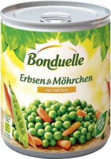 Bonduelle Erbsen mit Moehrchen, 2er Pack (2 x 850 ml)