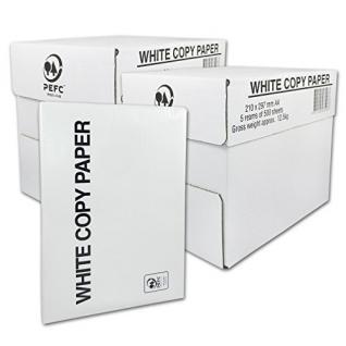 Druck- und Kopierpapier DIN A4 80g/m² COPY PAPER Kopier - Druckerpapier 5000 Blatt
