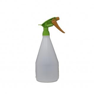 Sprühflasche mit Sprühpistole für Bewässerung transparent 1000ml