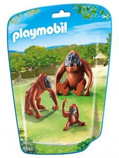 Playmobil 6648 - 2 Orang-utans Mit Baby - Vorschau