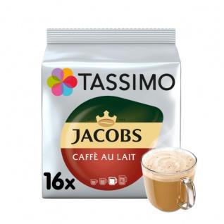 Tassimo Jacobs Café au lait classico Kaffee und Milch 16 T Discs 184g
