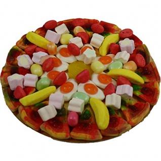 Fruchtgummi Pizza Primavera im Pizzakarton luftdicht verschweißt 430g