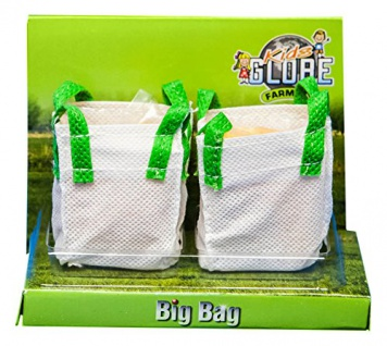Kids Globe 570036 - Big Bag Set, 2 Stück mit Silo Befüllen