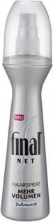 """Final Net Haarspray """" Mehr Volumen"""", 3er Pack (3 x 125 ml)"""
