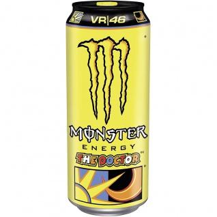 Monster Energy The Doctor Erfrischungsgetränk mit Fruchtsaft 500ml