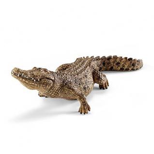 Schleich 14736 - Krokodil, Tier Spielfigur