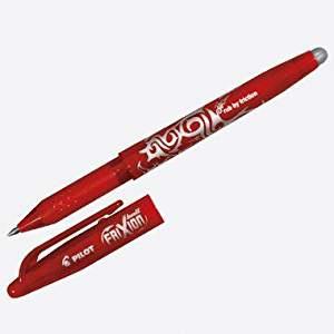 Tintenschreiber rot