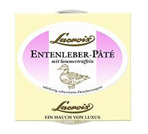 Lacroix Entenleber Pate mit erlesenen Sommertrüffeln 80g 3er Pack