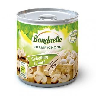 Bonduelle Champignon Gourmet Scheiben feinste Auslese 200g 12er Pack