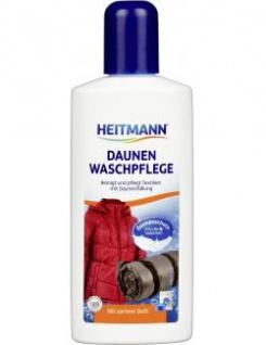 Heitmann Daunen Wäsche: reinigt und pflegt Textilien mit Daunenfüllung 250ml - Vorschau