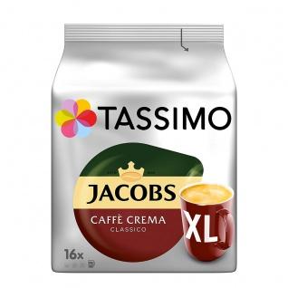 Tassimo Jacobs Caffè Crema Classico XL dein großer Morgenkaffee 132g