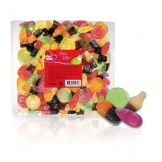 Red Band Fun Mix Mischung mit Lakritz mit natürlichen Farbstoffen 500g