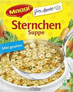 Maggi Guten Appetit Sternchensuppe für 1l