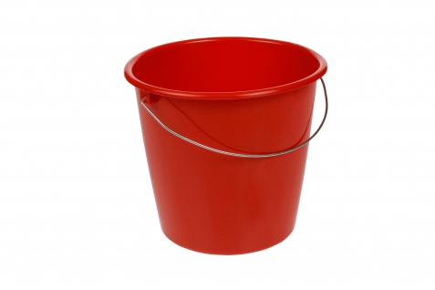 Eimer 10 Ltr. my red 28, 5x26cm