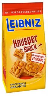 Bahlsen Leibniz Knusper Snack kar. Erdnüsse (175g)