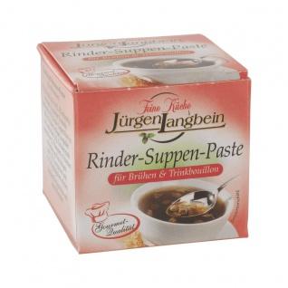 Jürgen Langbein Rinder Suppen Paste für Trinkbouillons 50g 10er Pack