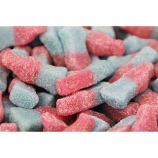 Fruchtgummi Bubblegum Bottles sauer ohne Gelatine Laktosefrei 300g