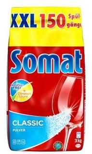 Somat Classic Pulver-Reiniger XXL 3 kilogramm, 1er Pack spült alles sauber